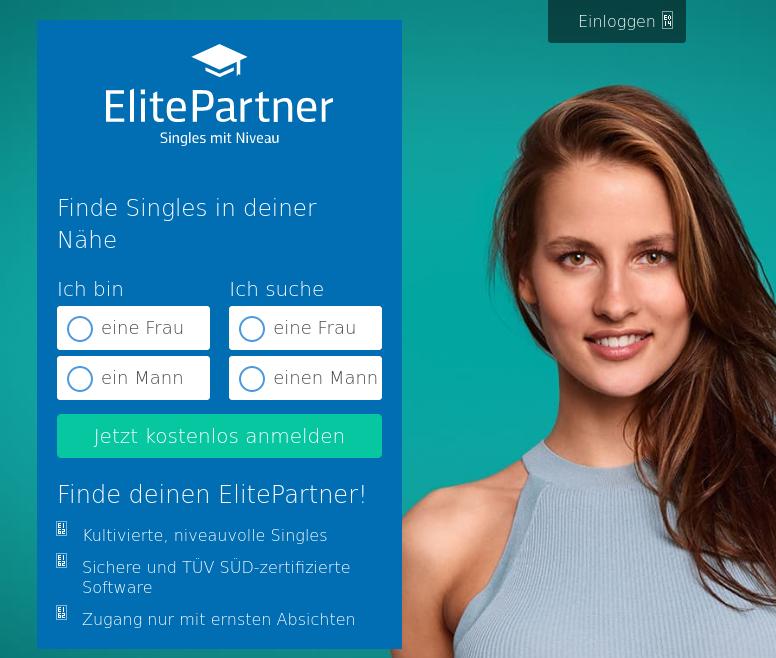 Testbericht: Titelbild zu Elitepartner.de